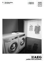 Gebruiksaanwijzing AEG wasmachine L76495NFL