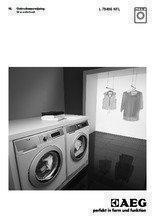 Gebruiksaanwijzing AEG wasmachine L79496NFL OkoMix