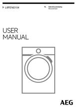 Gebruiksaanwijzing AEG wasmachine L8FENS104
