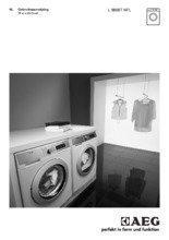 Gebruiksaanwijzing AEG wasmachine L98697NFL
