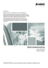 Gebruiksaanwijzing ASKO wasmachine W6464
