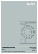 Gebruiksaanwijzing ASKO wasmachine rvs W4086C.S/2