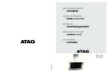 Gebruiksaanwijzing ATAG afzuigkap grafiet WS9192FM