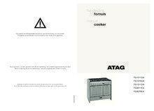 Gebruiksaanwijzing ATAG fornuis matzwart / rvs FG1070DA