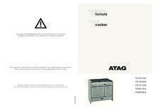 Gebruiksaanwijzing ATAG fornuis rvs FG1211DA