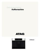 Gebruiksaanwijzing ATAG koffiemachine grafiet CM4692D