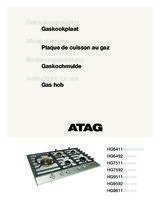 Gebruiksaanwijzing ATAG kookplaat inbouw HG7511EBA