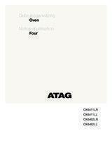Gebruiksaanwijzing ATAG oven inbouw grafiet OX6492LL