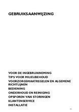 Gebruiksaanwijzing BAUKNECHT afzuigkap vlakscherm DNG5390IN