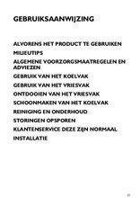 Gebruiksaanwijzing BAUKNECHT koelkast inbouw KGI3112/A+