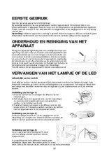 Gebruiksaanwijzing BAUKNECHT koelkast inbouw KGIE3193A++