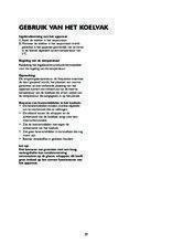Gebruiksaanwijzing BAUKNECHT koelkast inbouw KRIE2183A++