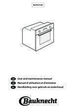 Gebruiksaanwijzing BAUKNECHT oven inbouw BLPE8100PT