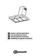 Gebruiksaanwijzing BAUKNECHT schachtdeel tbv afzuigkap AMC120