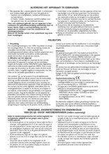 Gebruiksaanwijzing BAUKNECHT vrieskast onderbouw UGI1041/A+