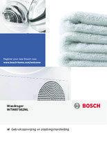 Gebruiksaanwijzing BOSCH droger warmtepomp WTW87562NL