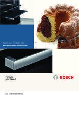 Gebruiksaanwijzing BOSCH fornuis keramisch wit HCE754823