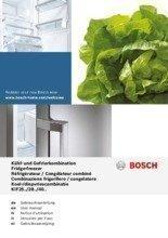 Gebruiksaanwijzing BOSCH koelkast inbouw KIF40P60