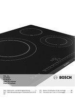 Gebruiksaanwijzing BOSCH kookplaat inductie PIA645B68E