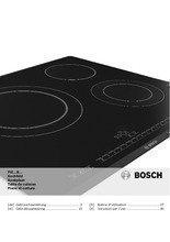 Gebruiksaanwijzing BOSCH kookplaat inductie PIE645B17E