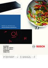 Gebruiksaanwijzing BOSCH kookplaat keramisch PKE645F17E