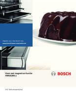 Gebruiksaanwijzing BOSCH oven met magnetron HMG636NS1