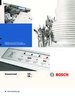 Gebruiksaanwijzing BOSCH vaatwasser onderbouw SMU59M25EU