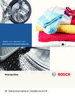 Gebruiksaanwijzing BOSCH wasmachine WAE28327NL