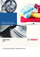 Gebruiksaanwijzing BOSCH wasmachine WAQ28463NL