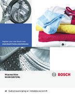 Gebruiksaanwijzing BOSCH wasmachine WAW32672NL