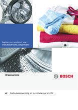 Gebruiksaanwijzing BOSCH wasmachine bovenlader WOT24255NL