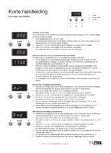 Gebruiksaanwijzing ETNA fornuis matzwart EFG691BRCA