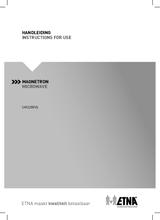 Gebruiksaanwijzing ETNA magnetron inbouw SM225RVS