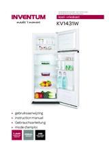 Gebruiksaanwijzing INVENTUM koelkast KV1431W