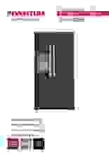 Gebruiksaanwijzing INVENTUM side-by-side koelkast SKV1782BI