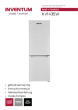 Gebruiksaanwijzing Inventum koelkast KV1435W