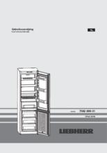 Gebruiksaanwijzing LIEBHERR koelkast CP4313-22