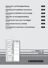 Gebruiksaanwijzing LIEBHERR koelkast SK4260-22