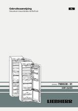 Gebruiksaanwijzing LIEBHERR koelkast inbouw ICBP3266-22