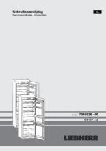 Gebruiksaanwijzing LIEBHERR koelkast inbouw ICP3324-21