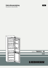 Gebruiksaanwijzing LIEBHERR koelkast inbouw ICU3324-20