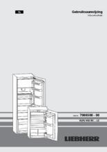 Gebruiksaanwijzing LIEBHERR koelkast inbouw IKS1620-21