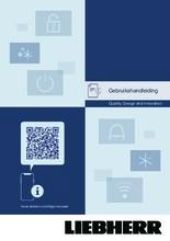 Gebruiksaanwijzing LIEBHERR koelkast inbouw IRe4021-20