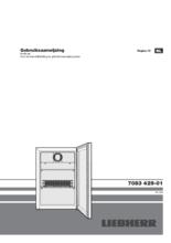 Gebruiksaanwijzing LIEBHERR koelkast professioneel rvs FKv503-20