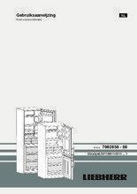 Gebruiksaanwijzing LIEBHERR koelkast rvs CUef 3311-20