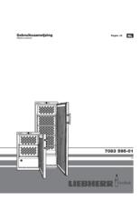 Gebruiksaanwijzing LIEBHERR koelkast wijn WKr4211-22