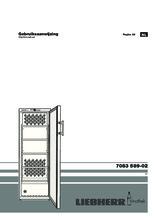 Gebruiksaanwijzing LIEBHERR koelkast wijn WTB4212-20