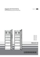 Gebruiksaanwijzing LIEBHERR professionele koelkast MRFvc3501-20