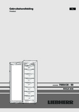 Gebruiksaanwijzing LIEBHERR vrieskast SGN3036-22