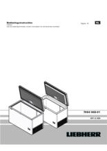 Gebruiksaanwijzing LIEBHERR vrieskist CFF2500